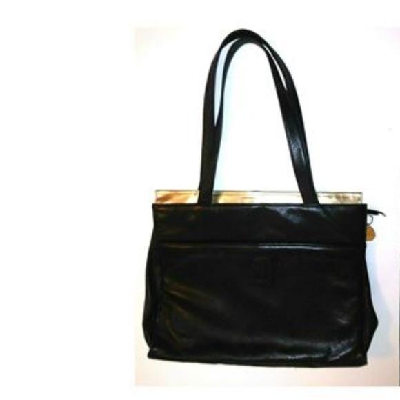 Fred Hayman Beverly Hills Handbags - Fred Hayman Beverly Hills Black Leather purse NWOT